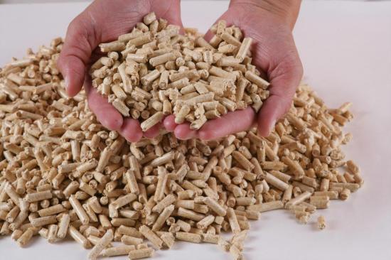 Granules bois pellets