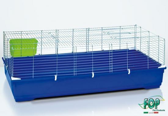 La cage pour rongeurs cavia 140cm zincata 21319
